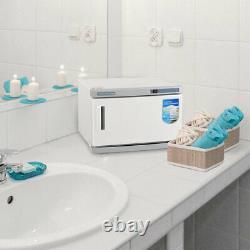 16L 2in1 Hot Towel Warmer Cabinet UV Sterilizer Spa Beauty Salon Face Skin Care