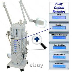 22 in 1 MicroDermabrasion Facial Machine Spot Remover Spa Beauty Salon Equipment