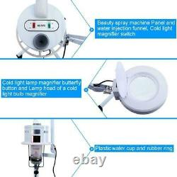 3 In 1 5X Magnifying Facial Steamer Lamp Hot Ozone Beauty Machine Spa Salon US