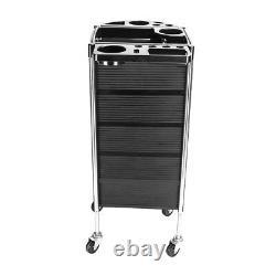 5 Tiers Hairdresser SPA Beauty Storage Trolley Storage Hair Salon Rolling Cart