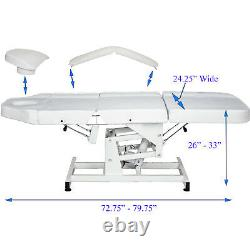9 in 1 Facial Machine Electric Height Massage Bed Spa Beauty Salon Equipment