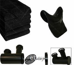 ABS Backwash Shampoo Bowl Sink Chair Unit Station Beauty Spa Salon Equipment