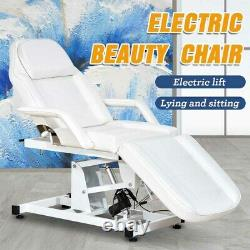 Adjustable Electric Massage Table Salon Barber Tattoo Spa Beauty Facial Chair RC