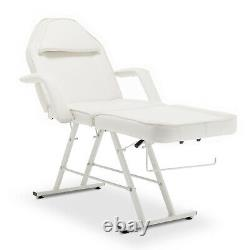 Adjustable Massage Table Salon Facial Bed Barber Tattoo Spa Beauty Chair 3 Fold