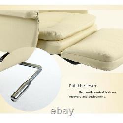 Air Pressure Reclining Barber Chair Salon Beauty Spa Equipment Modern Office US