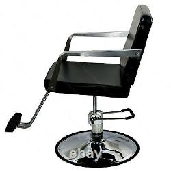 All Purpose Black Hydraulic Barber Styling Chair Spa Beauty Salon Furniture