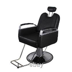 All Purpose Hydraulic Barber Chair Styling Salon Beauty Spa Shampoo Equipment