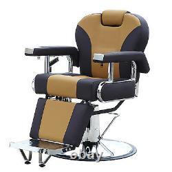 All Purpose Hydraulic Recline Barber Chair Salon Beauty Spa Shampoo Equipment