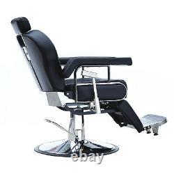 All Purpose Hydraulic Recline Barber Chair Salon Beauty Spa Shampoo Hair Styling