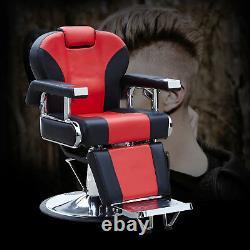 All Purpose Hydraulic Recline Barber Chair Salon Shampoo Beauty Spa Equipment