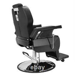 All Purpose Hydraulic Reclining Barber Chair Salon Beauty Spa Styling Station