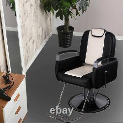 All Purpose Reclining Hydraulic Barber Chair Salon Beauty Spa Chair Shampoo Unit