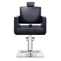 All Purpose Salon Chair Beauty Salon and Spa Reclining Chair TETRIS in Black