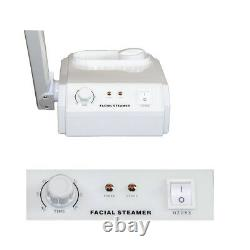 Aromatherapy Ozone Rolling Hot Steam Facial Steamer Salon Spa Beauty Equipment