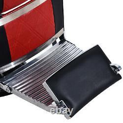 BarberPub Vintage Barber Chair Heavy Duty Salon Beauty Spa Styling Equipment3815