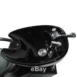 Barber Backwash Shampoo Chair Ceramic Bowl Sink Salon Beauty Spa Unit Station