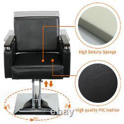 Barber Chair Classic Hydraulic Salon Hair Styling Beauty Shampoo Spa Equipment