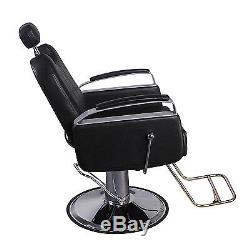 Barber Chair Hair Beauty Hydraulic Recline Salon Haircut Equipment Spa Shampoo