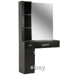 Barber Wall Mount Beauty Salon Spa Mirrors Station Hair Styling Station 3036
