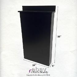 Beauty Salon Black Floor Cabinet for Shampoo Salon Spa Quality BC38