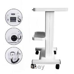 Beauty Salon Machine Stand Rolling Cart Beauty SPA Trolley Stand ABS with Socket