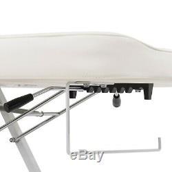 Beauty Tattoo Massage Bed Chair Facial Barber Adjustable Salon Spa Equipment