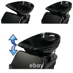 CERAMIC Backwash Shampoo Bowl Sink Chair Station Salon Spa Beauty Equipment