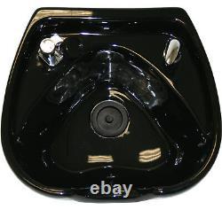 CERAMIC Heart Shape Round Shampoo Bowl Sink Barber Spa Beauty Salon Equipment