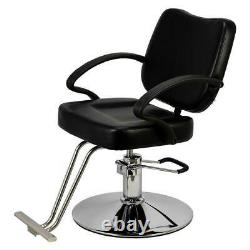 Classic Hydraulic Barber Chair Salon Beauty Spa Hair Styling Haircut Equipment