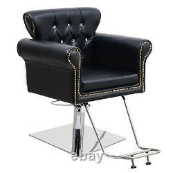 Classic Hydraulic Barber Chair Salon Beauty Spa Shampoo Hair Styling Equipment