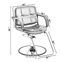 Classic Hydraulic Barber Chair Salon Beauty Spa Styling Equipment 8837 8837