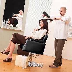 Classic Hydraulic Barber Chair Salon Hair Styling Beauty Spa Shampoo Equipment
