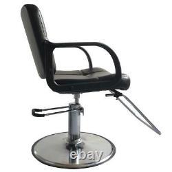 Classic Hydraulic Barber Chair Salon Hair Work Station Beauty Spa Furniture