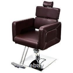 Classic Reclining Hydraulic Barber Chair Salon Beauty Spa Styling Equipment 2065