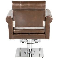 Classic Salon Barber Chair Hydraulic Beauty Stylist Stations Spa Haircut Styling