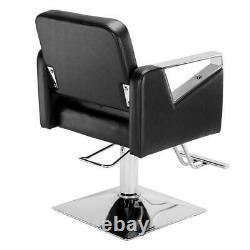 Classic Squar Salon Hair Styling Chair Beauty Barber Chair Beauty Spa Equipment