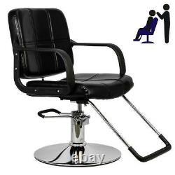 Cutting Hair Cape Hydraulic Barber Chair Salon Beauty Spa Styling Furniture Seat