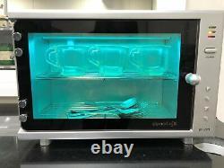 DERMALOGIC UV Sterilizer Mini Sanitizer Towel Cabinet for Spa Beauty Salon, 10L
