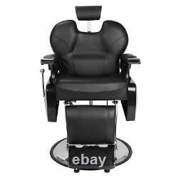 Deluxe Barber Shop Hydraulic Recline Salon Chair Beauty Spa Shampoo Hair Styling