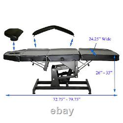 Electric Height Adjustable Only Facial Massage Bed Salon Spa Beauty Equipment