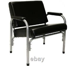 Extra Wide Auto Recline Shampoo Chair Styling Barber Beauty Salon Spa Equipment