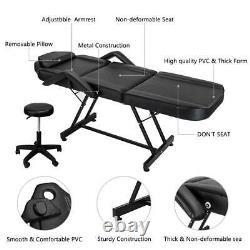 Facial Table Tattoo Chair Massage Bed for Esthetician Salon Beauty Spa Lash