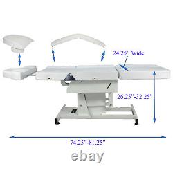 Fully Electric Massage Facial Tattoo Bed Table Salon Spa Beauty Studio Equipment