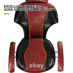 Hair Salon Barber Chair Hydraulic Recline Fully Functional Beauty Spa Stations