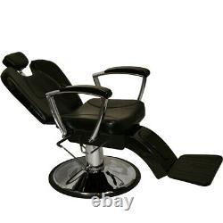 Heavy Duty Classic Reclining Barber Styling Chair Salon Spa Beauty Equipment