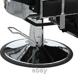 Heavy Duty Salon Spa Chair Hydraulic Reclining Barber Shampoo Beauty Equipment