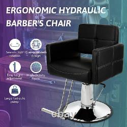 Hydraulic Barber Chair Salon Chair for Beauty Spa Hair Salon Shampoo Equipment