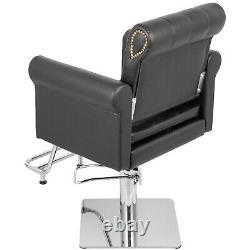 Hydraulic Barber Chair, Salon Hair Styling Chair Beauty Spa Height Adjust Swivel