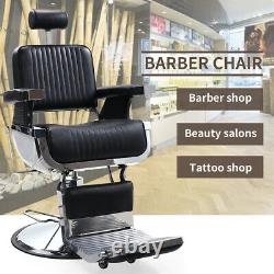 Hydraulic Barber Chair Tattoo Bed Styling Station Beauty Salon Spa Equipment