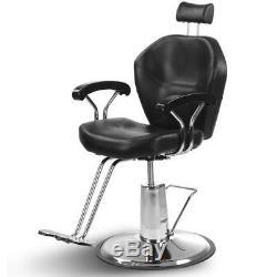 Hydraulic Recline Barber Chair Adjustable Salon Beauty Spa Hair Styling Shampoo
